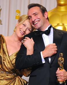 Image of Meryl Streep and Jean Dujardin
