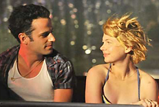Luke Kirby & Michelle Williams in Take this Waltz
