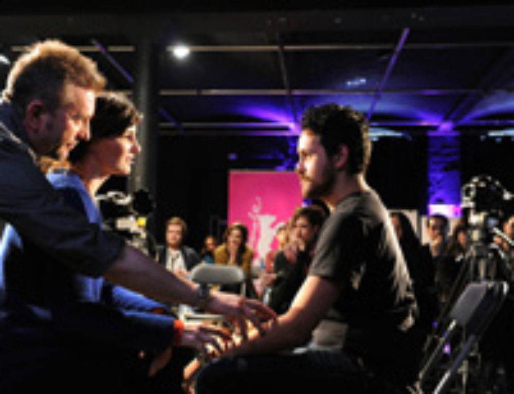 Jean-Louis & Kristof mentor 350 filmmakers at the 63rd Berlin International Film Festival