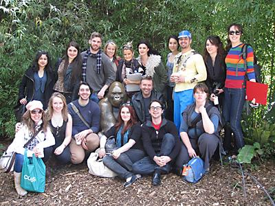 Kristof Konrad and Howard Fine Acting Studio, Melbourne Students