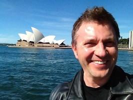 Kristof in Australia