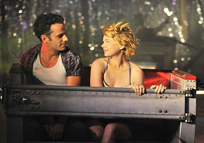 "Luke Kirby and Michelle Williams in ""Take this Waltz"""