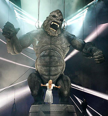 King Kong, Live on Stage