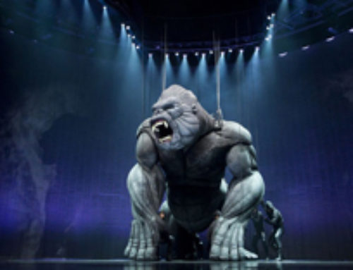 "Student Update: Gavin Robins receives rave reviews for ""King Kong, Live on Stage"""