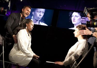 Kristof Konrad & Jean-Louis Rodrigue teaching - Berlinale Talent Campus 2013