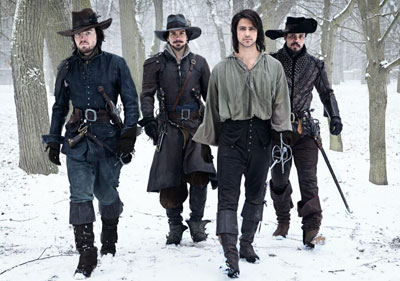 Santiago Cabrera in The Musketeers
