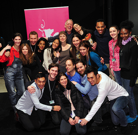 Jean-Louis Rodrigue & Kristof Konrad w/ Berlinale 2015 Students
