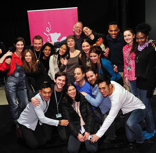 Jean-Louis Rodrigue & Kristof Konrad w/ Berlinale 2015 Students