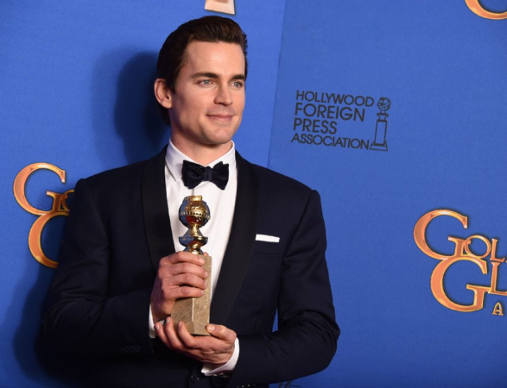 "Student Update: Matt Bomer wins Golden Globe for ""The Normal Heart"""