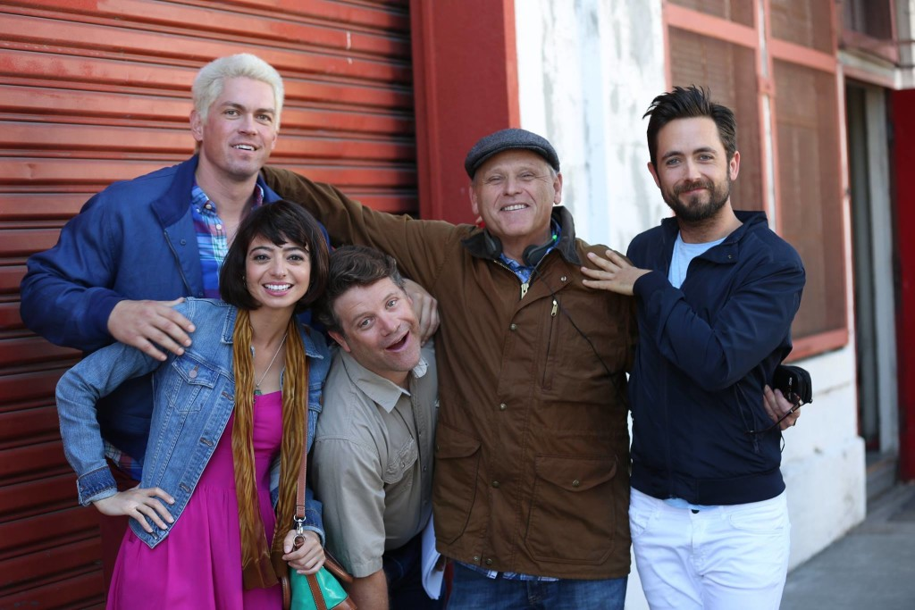 Justin Chatwin and cast of UNLEASHED