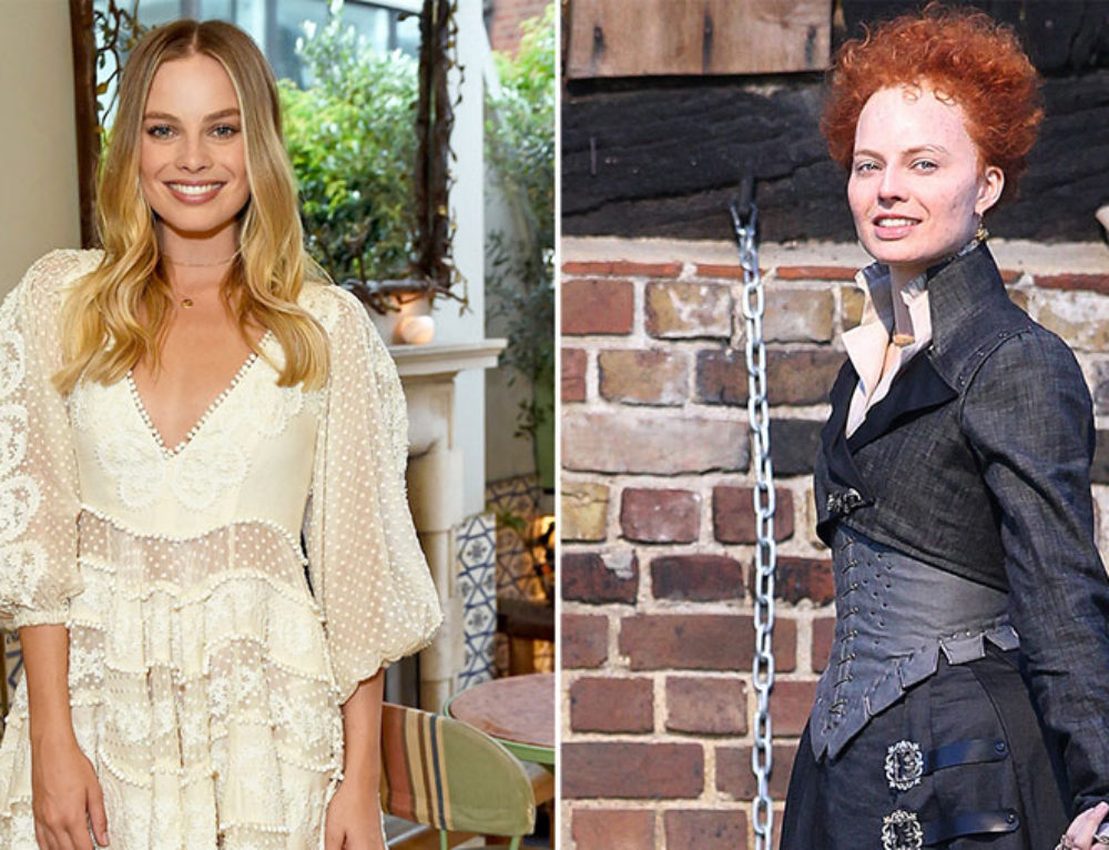 "Margot Robbie trains with Jean-Louis to play Queen Elizabeth I for ""Mary Queen of Scots"""