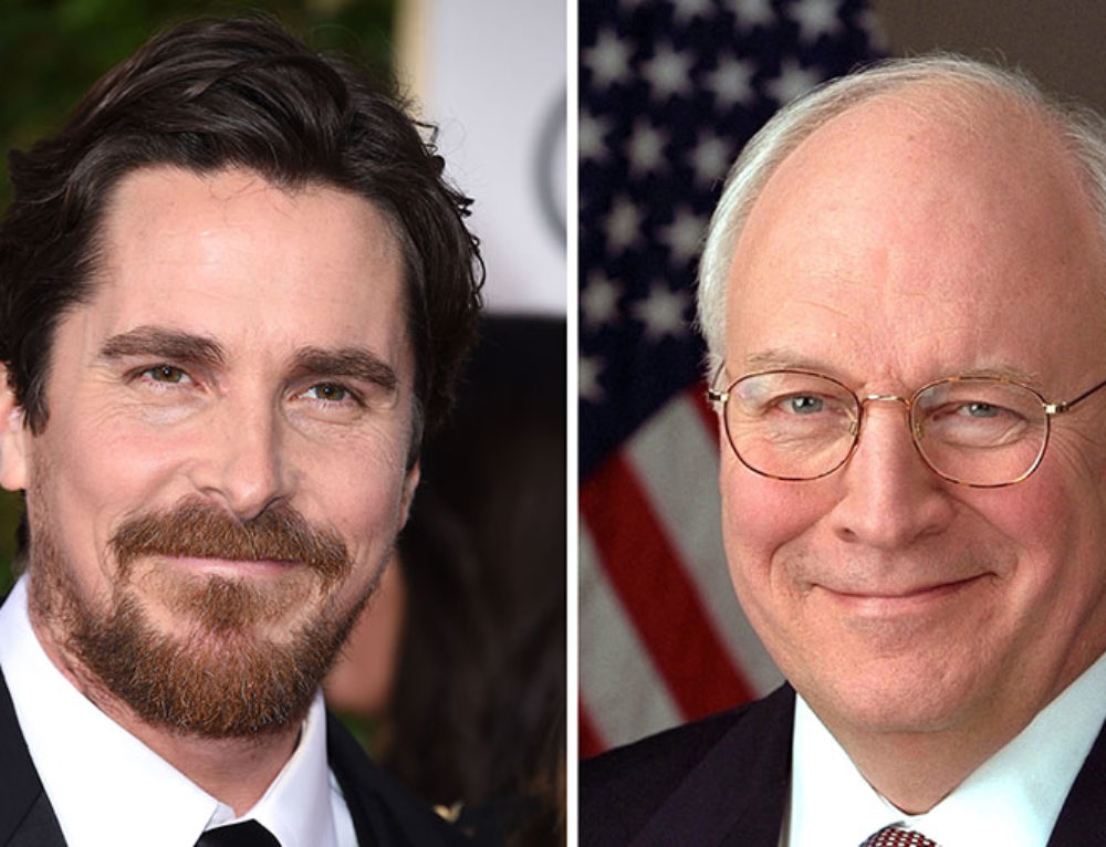 "Jean-Louis prepares Christian Bale to embody Dick Cheney in ""Backseat"""