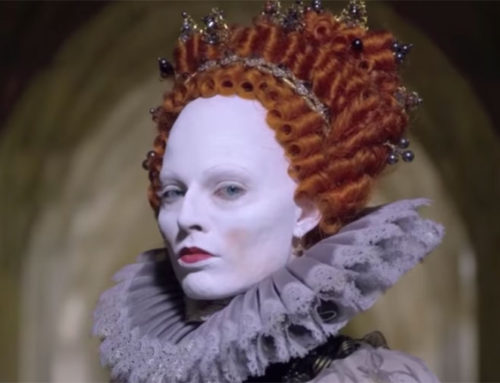 Margot Robbie prepared with Jean-Louis Rodrigue to embody the period of Elizabeth I